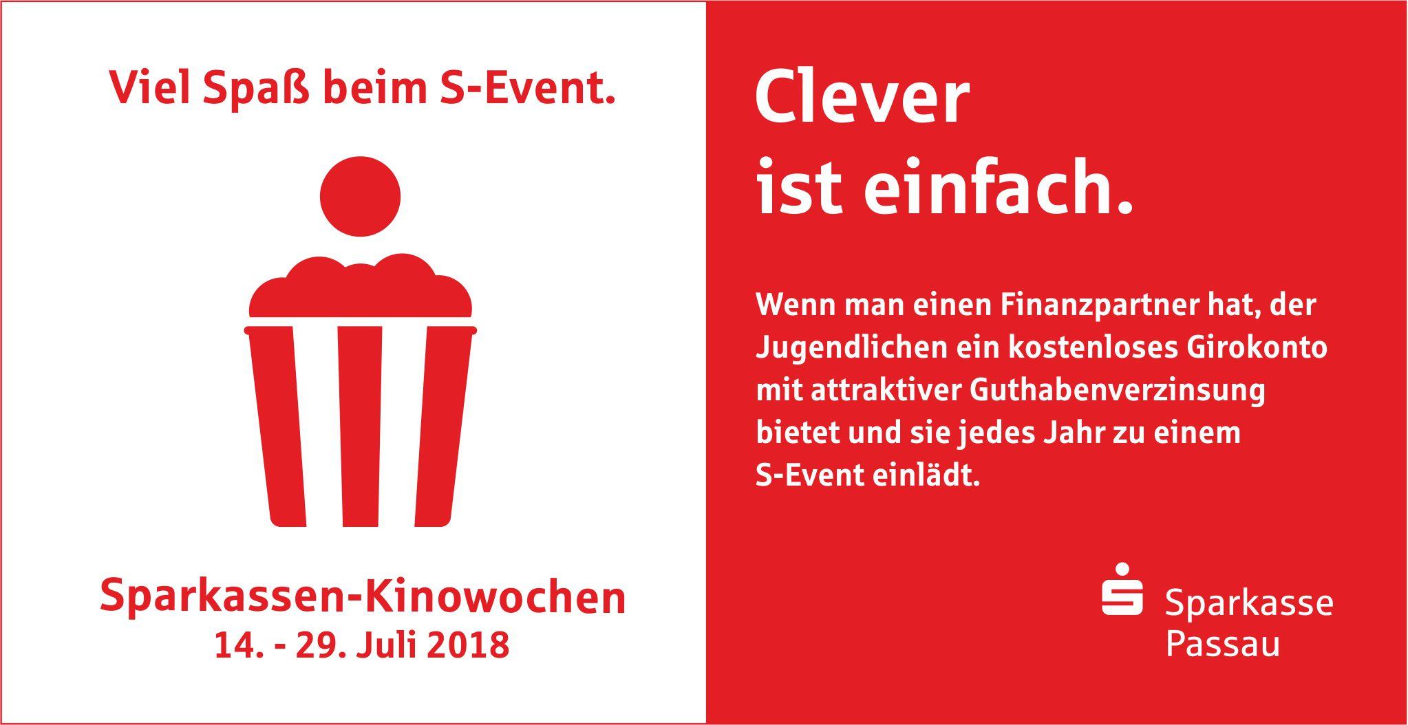 Sparkasse-Kinowochen 2018
