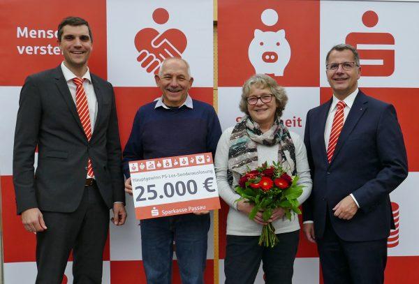 Riesen Freude über 25.000 €
