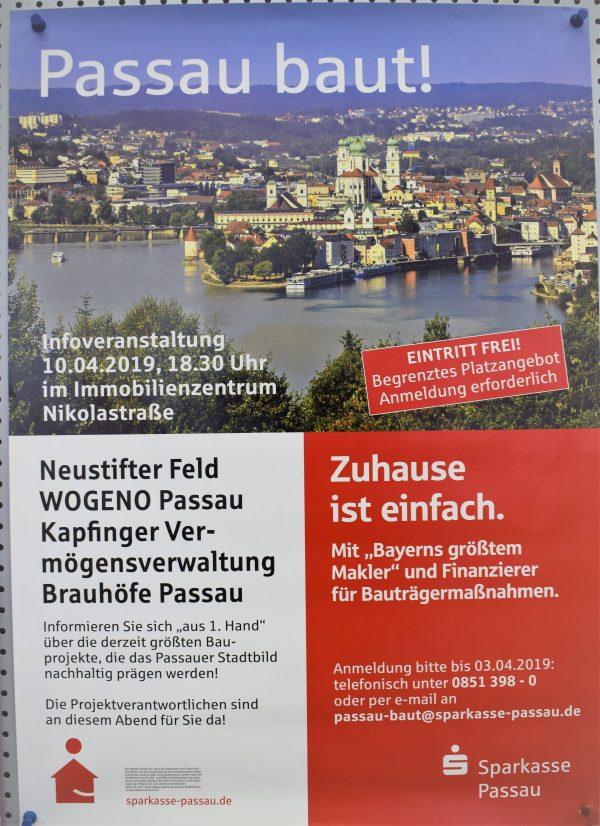 """Infoveranstaltung """"Passau baut"""" der Sparkasse Passau"""