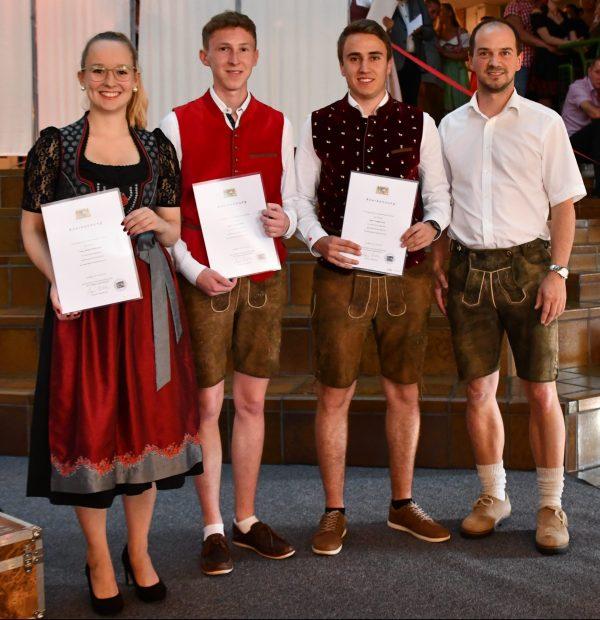 Abschlussfeier der Berufsschule II in Passau