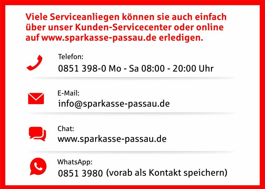 Sparkasse Passau - Corona, gemeinsam da durch