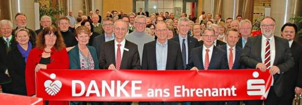 Sparkasse unterstützt Ehrenamt