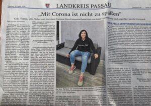 Sparkasse Passau - Mitarbeiter in Zeiten von Corona - PNP-Interview