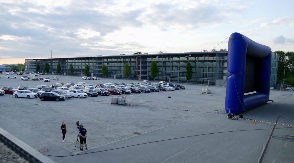 Sparkasse Passau - Autokino für Passau