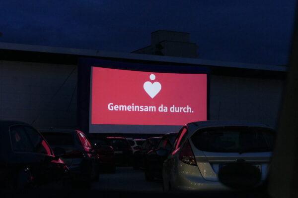 Willkommene Abwechslung in Corona-Zeiten: Autokino für Passau
