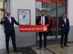 Die Sparkasse Passau erhielt die Auszeichnung für das stärkste gewerbliche Förderkreditgeschäft im Regierungsbezirk Niederbayern – und belegt mit ihrem Ergebnis sogar Platz 2 in ganz Bayern.