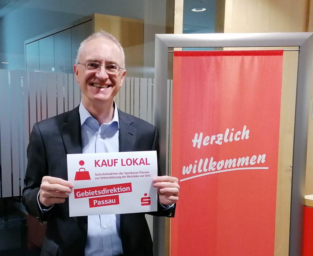 Sparkasse Passau - KAUF LOKAL - Gutscheinaktion