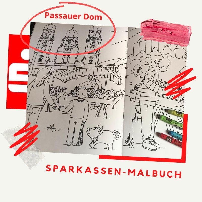 Sparkasse Passau - Malbuch