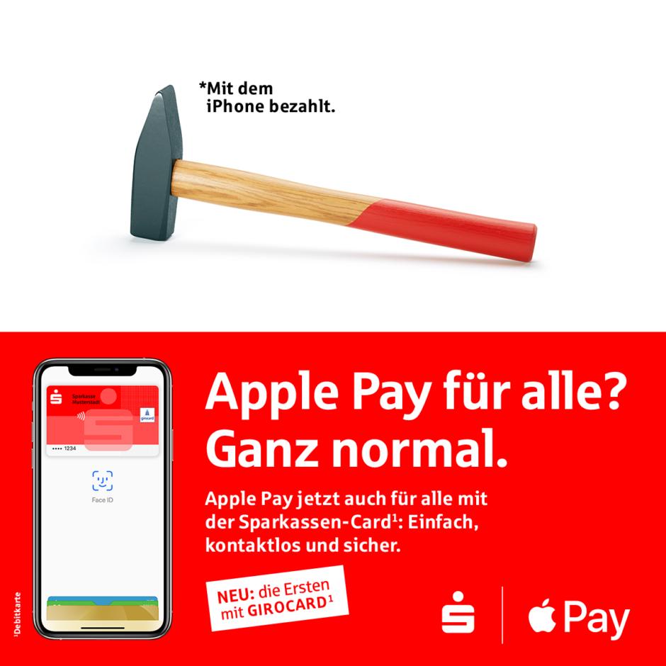 Apple Pay mit der girocard startet bei der Sparkasse Passau