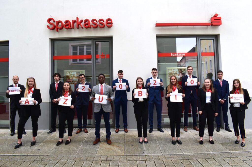 Sparkasse Passau - Ausbildungsstart 2020