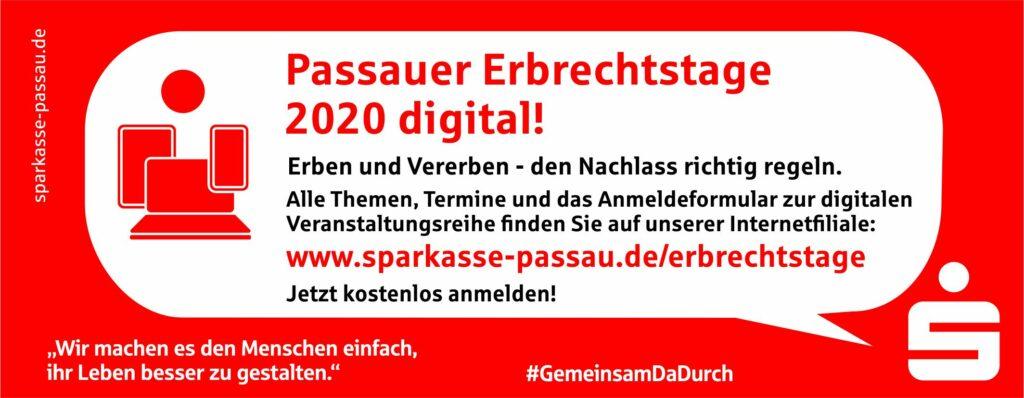 Passauer Erbrechtstage 2020 digital