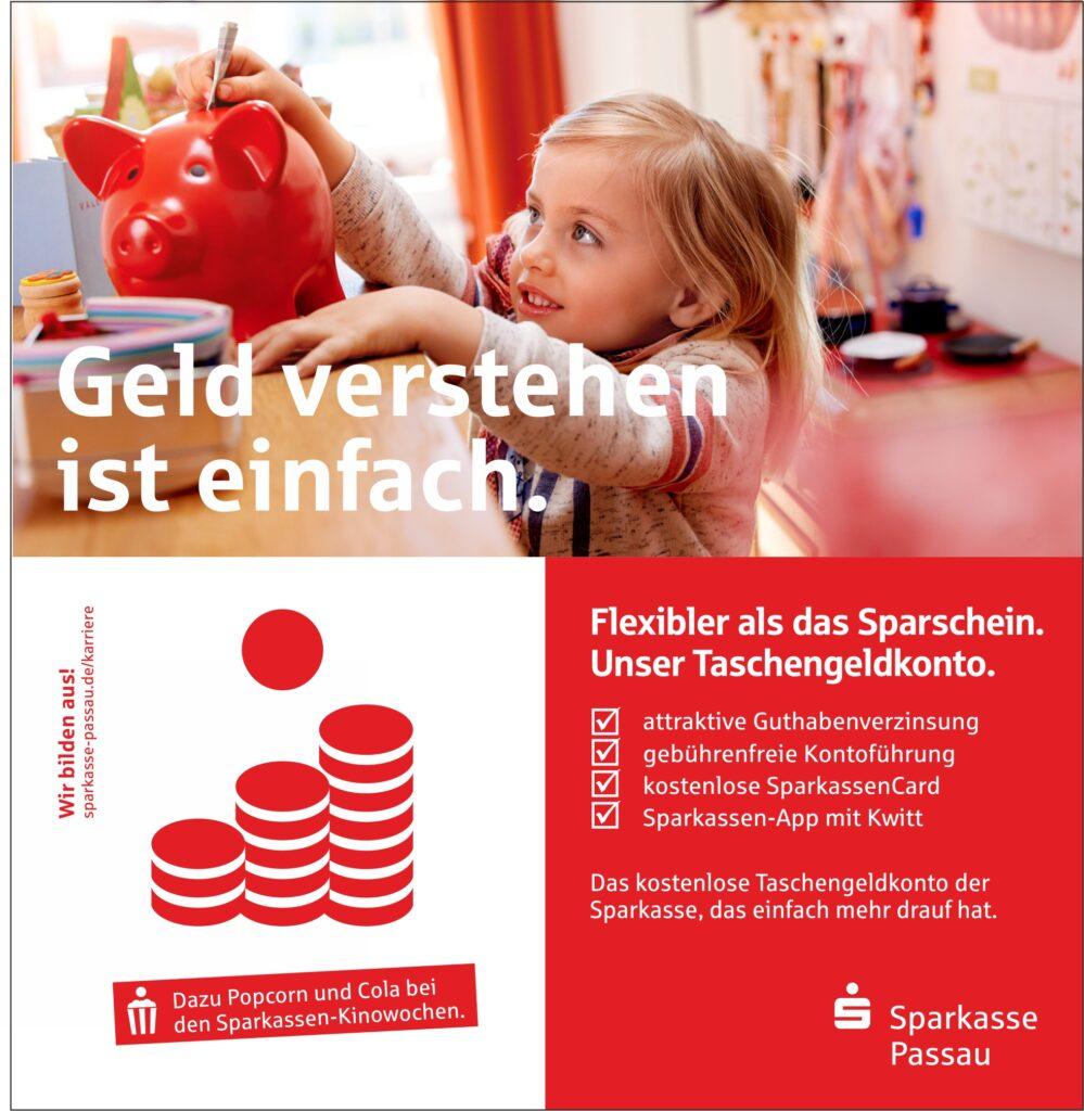 Sparkasse Passau - Schulstart