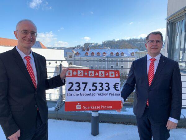 Sparkasse Passau leistet großen Beitrag zu funktionierendem Miteinander