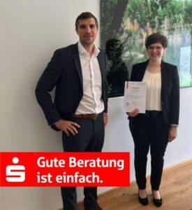 Sparkasse Passau - Christina Sonnleitner ausgezeichnet