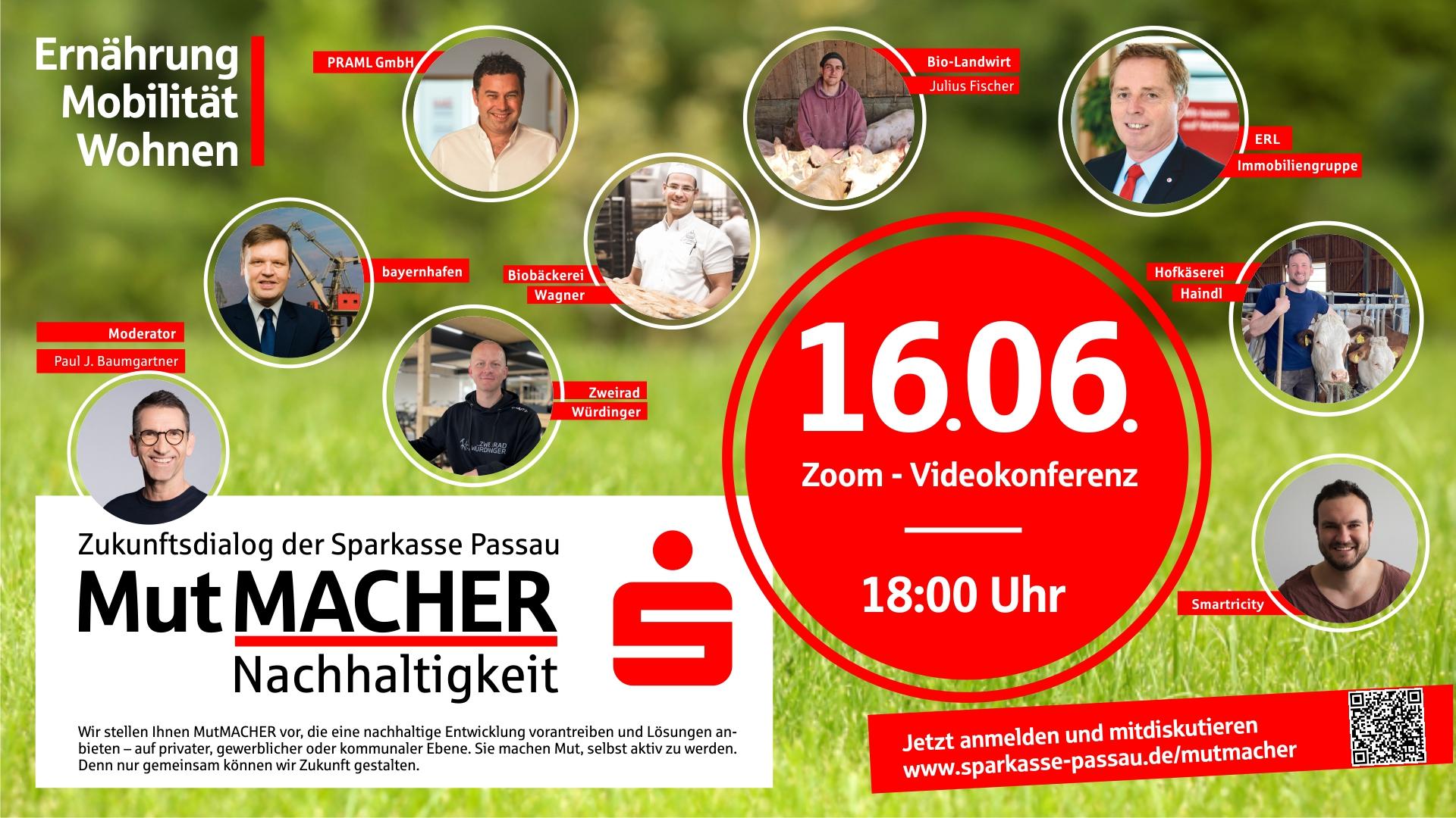 Sparkasse Passau MutMacher Nachhaltigkeit