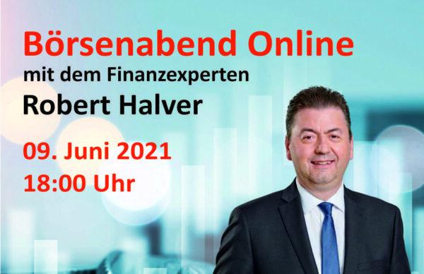 Online-Börsenabend mit Robert Halver