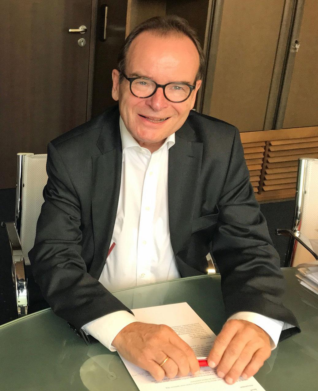 Interview mit Dr. Hartmann Beck, stv. Vorstandsvorsitzenden