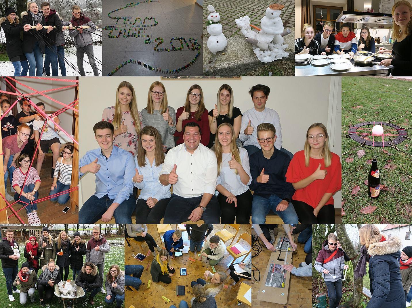 Erfolgreiche Azubi-Teamtage in Dornach