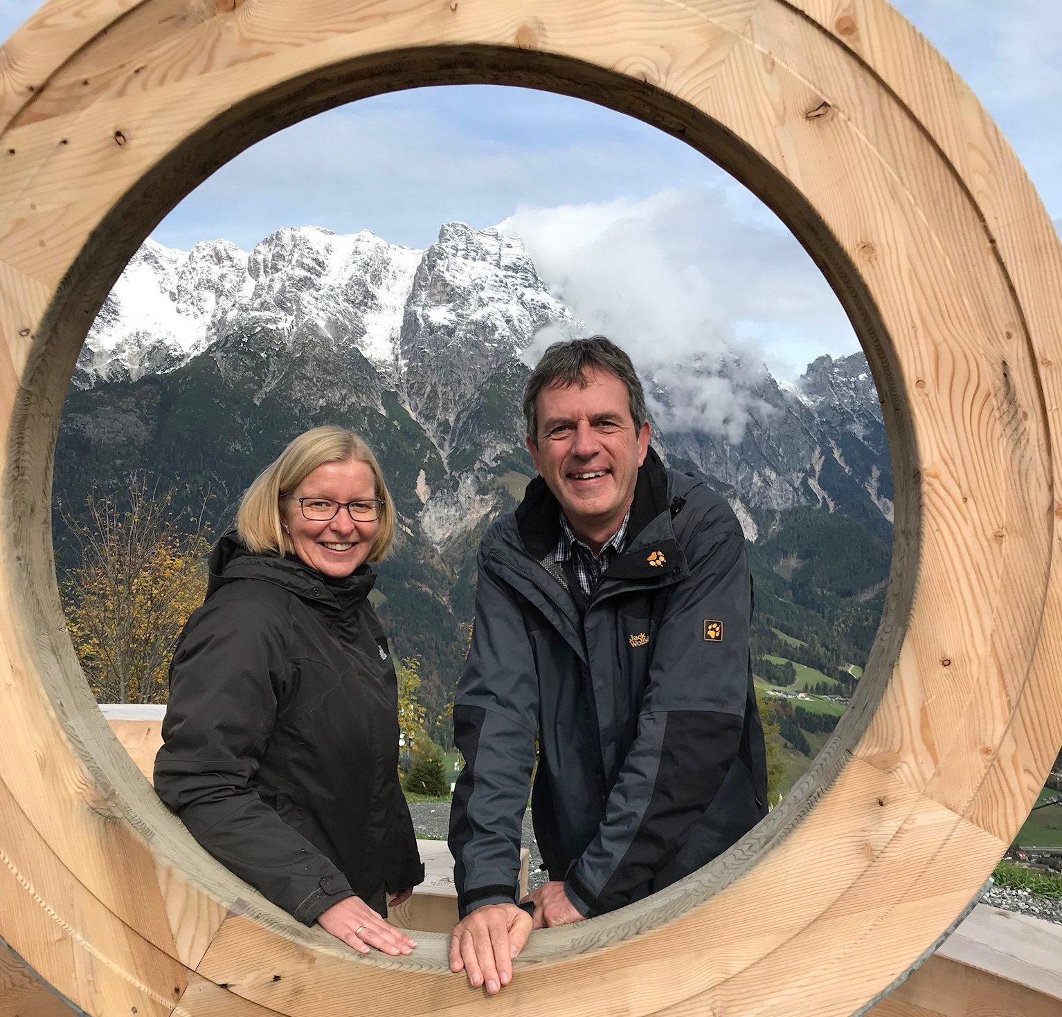 Mitarbeiter privat – Werner Moser im Interview mit der SparkassenZeitung