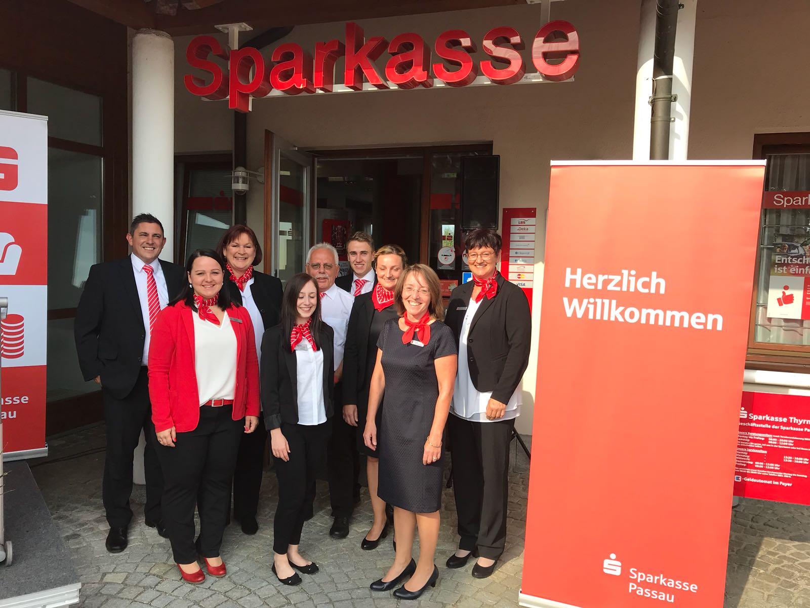 Jubiläum der Sparkassen-Geschäftsstelle Thyrnau