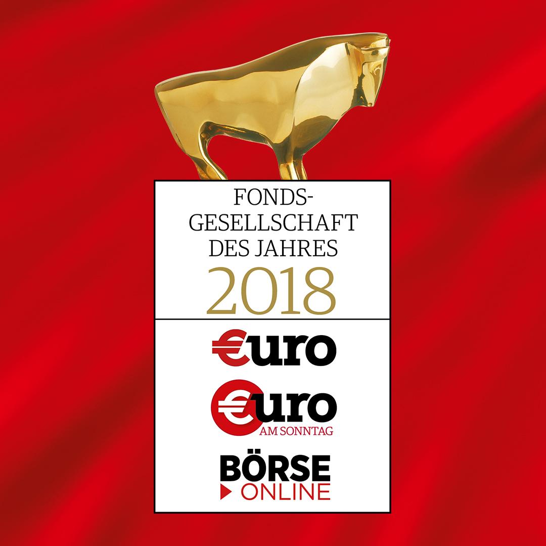 """Deka Investment als """"Fondsgesellschaft des Jahres"""" ausgezeichnet"""