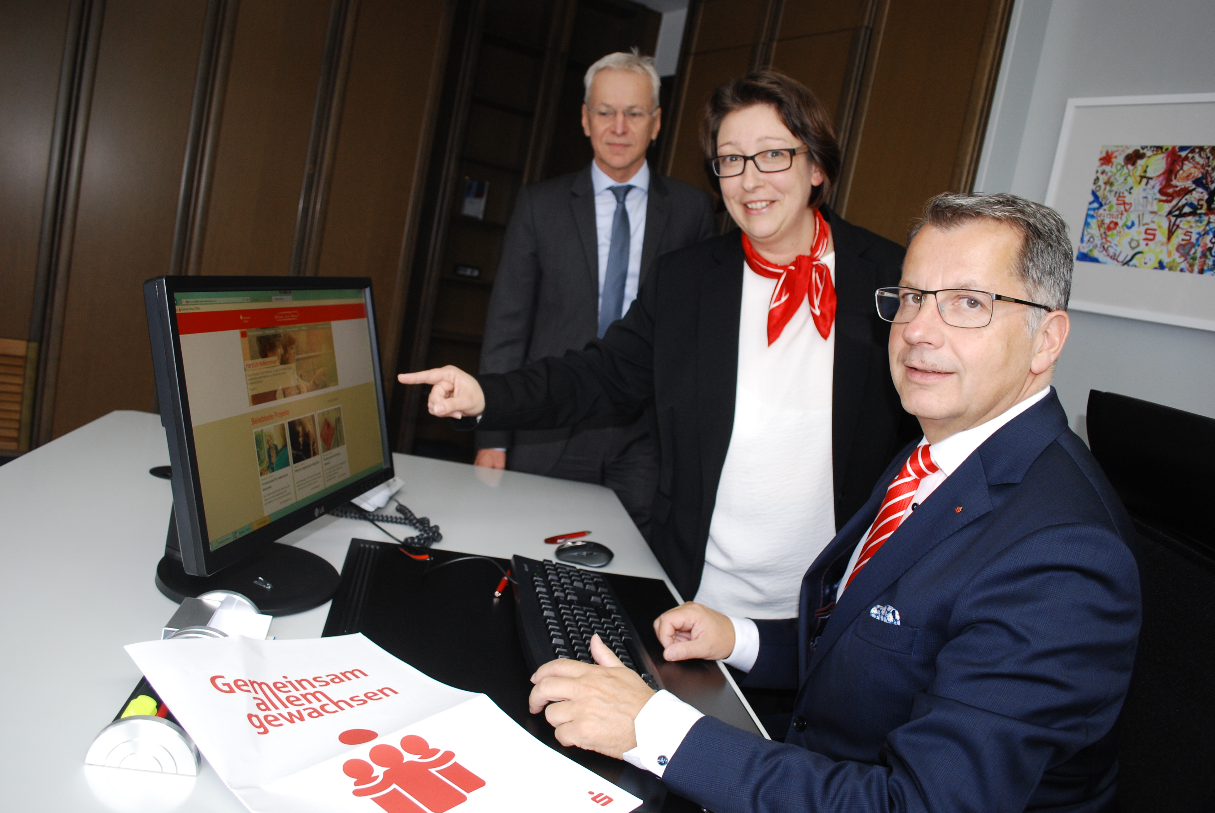 """Neue Online-Spendenplattform """"EINFACH.GUT.MACHEN."""" der Sparkasse – ein Riesenerfolg!"""