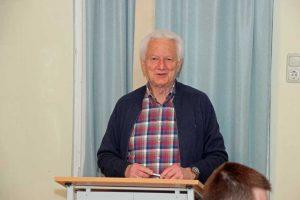 Peter Fahrnholz feiert am 1. April – und das ist kein Scherz – seinen 80. Geburtstag