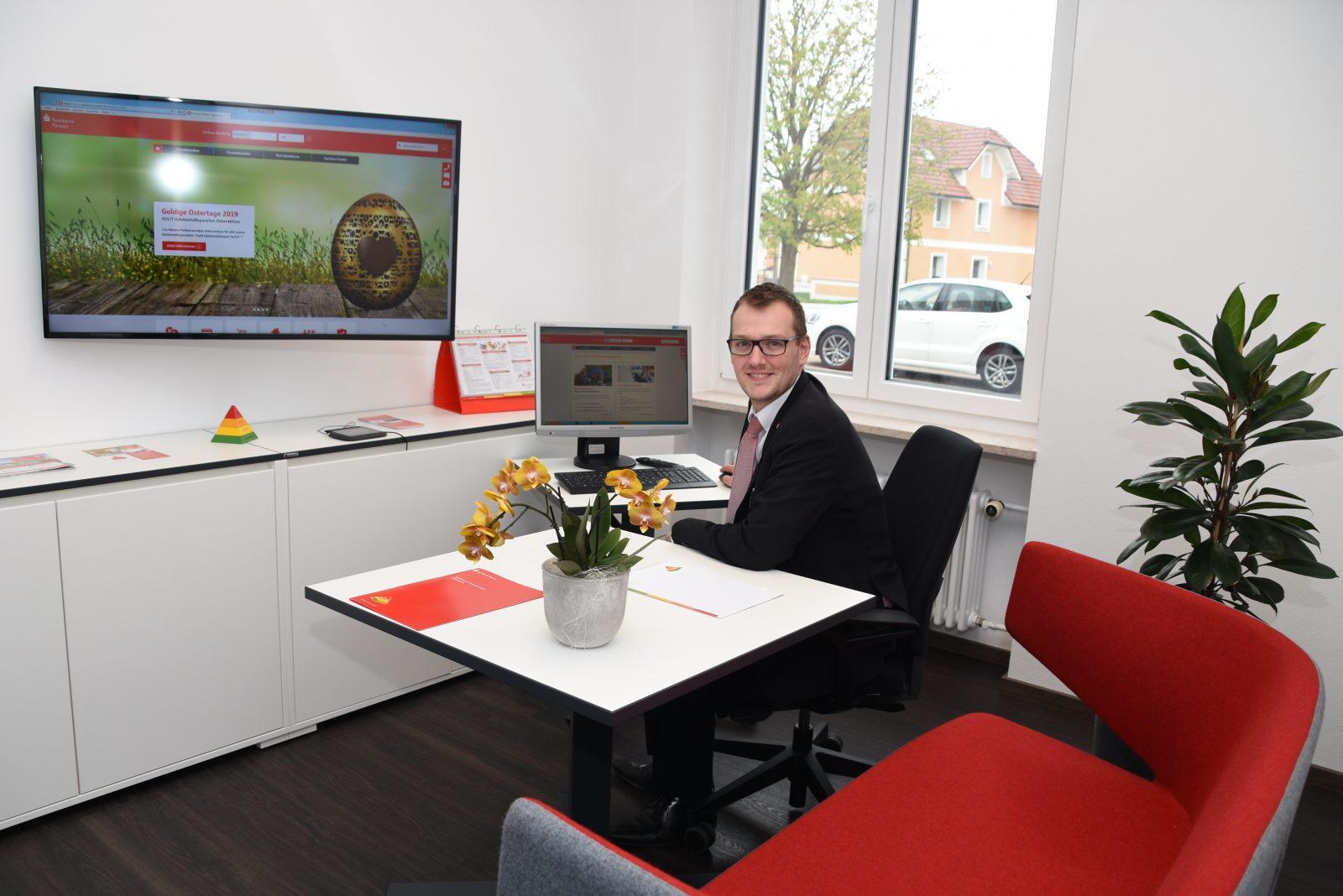 Wie neu: Die Neuhauser Sparkassen-Geschäftsstelle