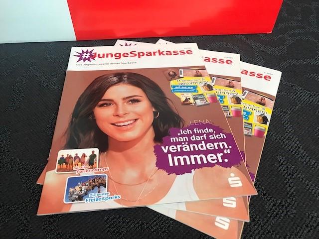#JungeSparkasse – das Jugendmagazin der Sparkasse
