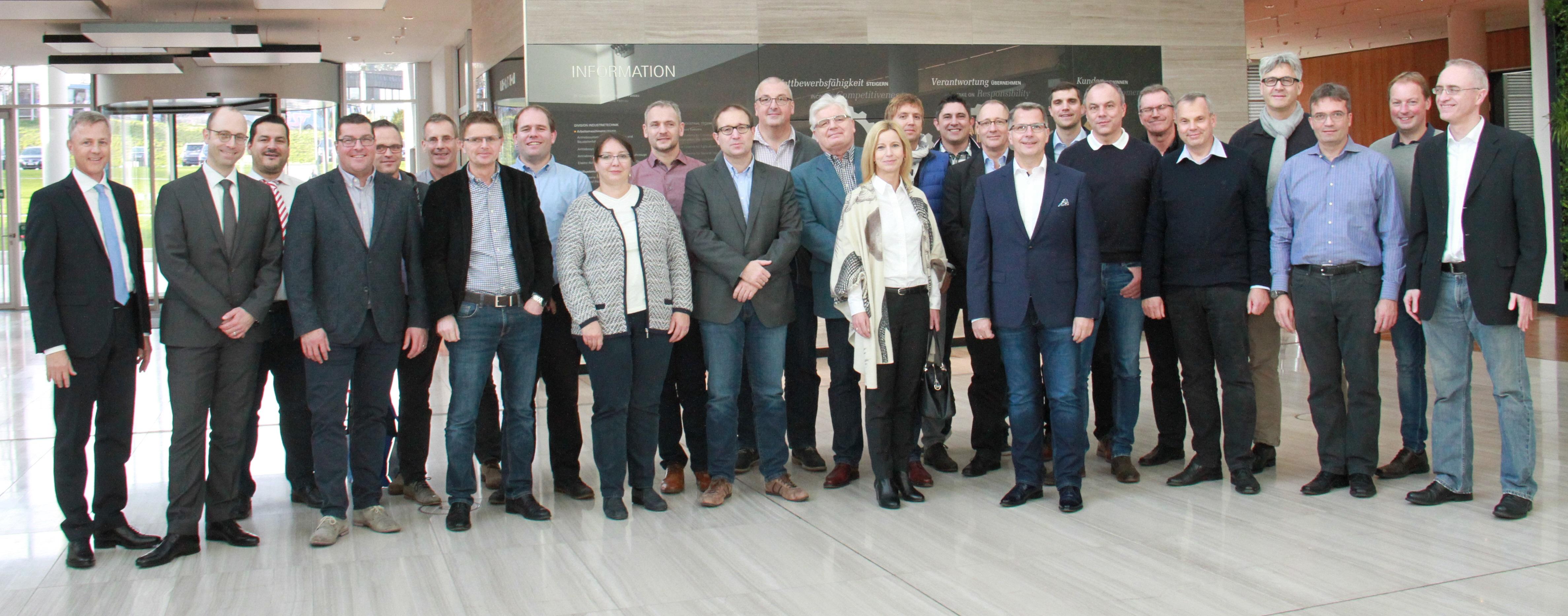 Sparkasse Passau zu Besuch bei der ZF Friedrichshafen AG